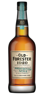 Old Forester Bourbon 1920 Prohibition...